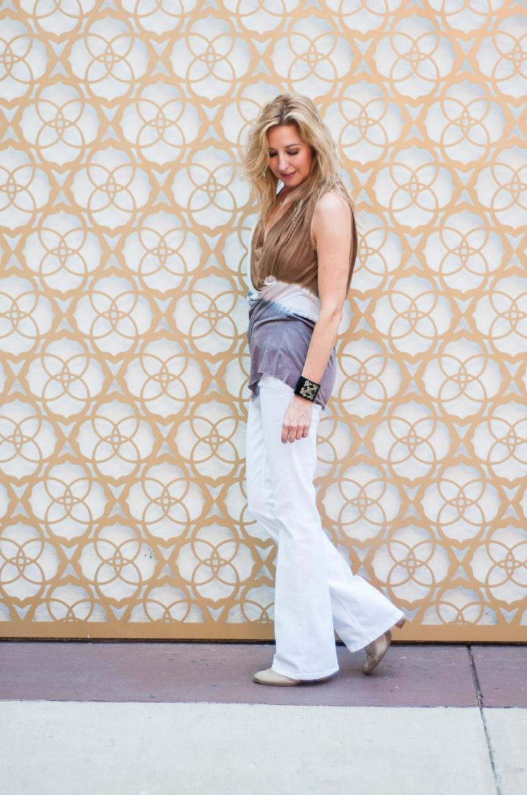 How To Wear White Jeans (and other summer staples) After Labor Day