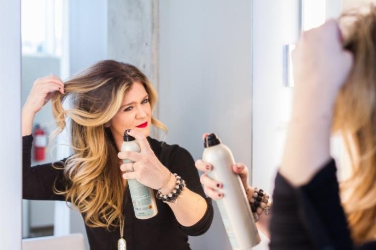 The Prettiest Holiday Hair and Makeup
