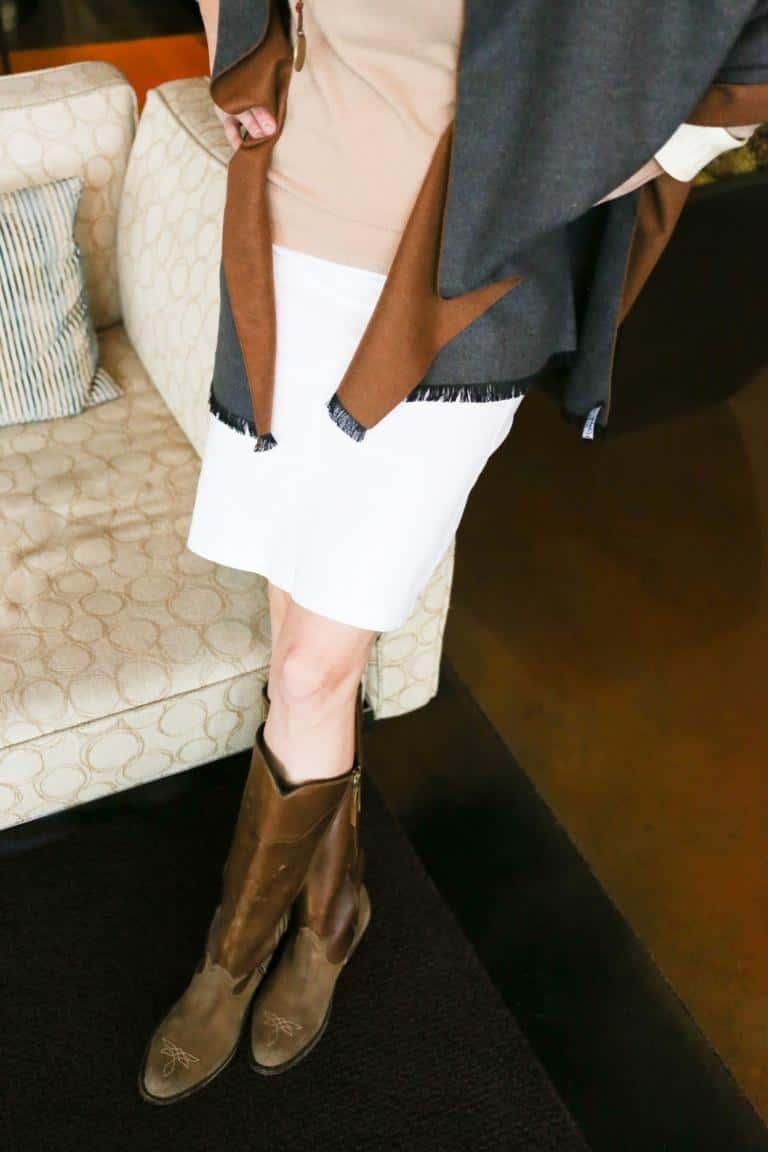 Wardrobe Staple: A Year-Round Denim Skirt