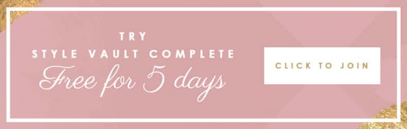 5 Days of Free Trial to Style Vault Complete!