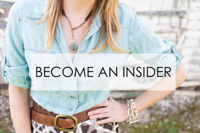 Become a Style Vault Insider!