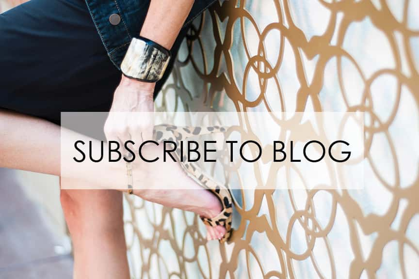 Step 1 - Subscribe to our Style Blog