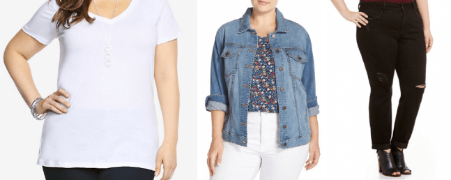 {August} More Back To School Looks for Size 16 and Over