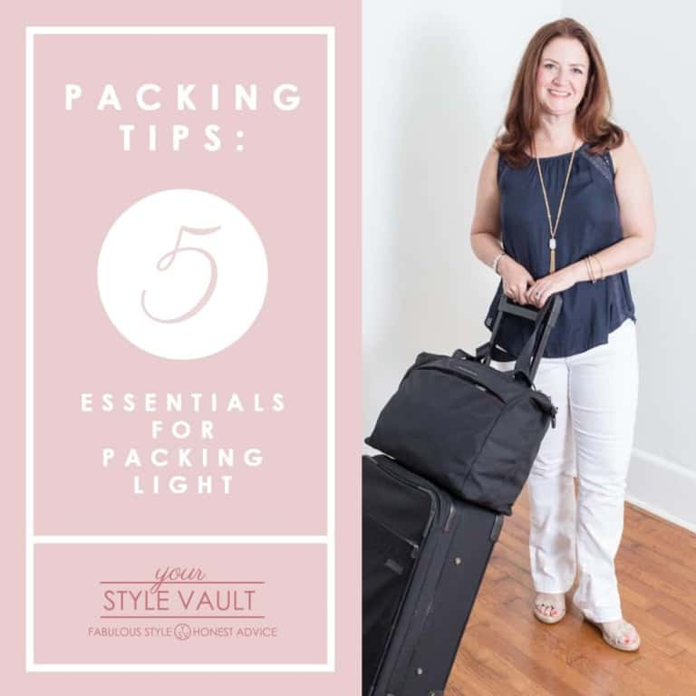 Packing Tips: Five Essentials for Packing Light