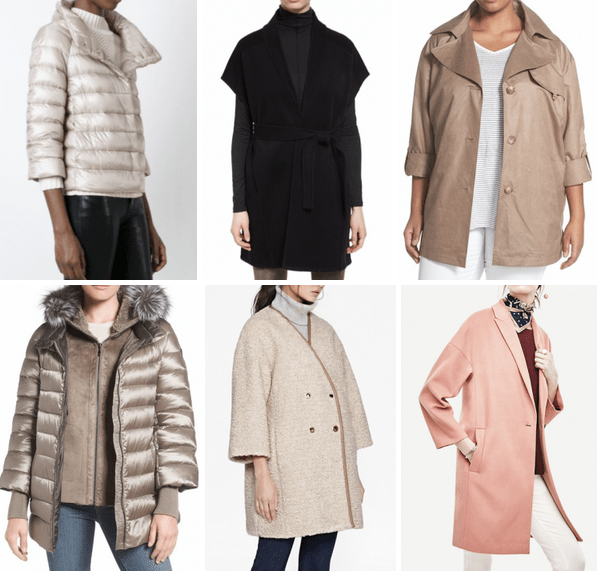 {September Complete} Fall Coats for Modern Classics