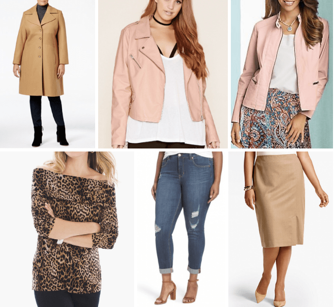 {September Complete} Plus Size Modern Trend Coats