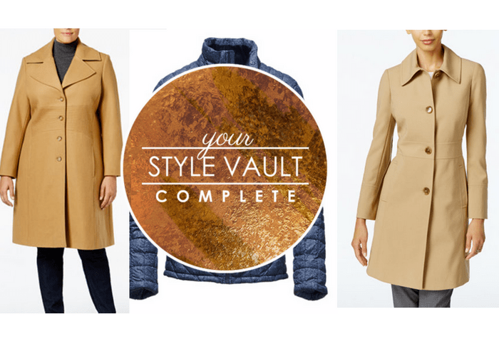 {September Complete} Dress Coats and Down Jackets