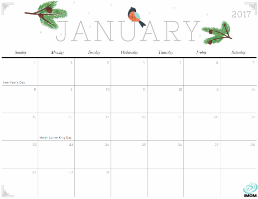 photograph relating to Pretty Printable Calendar called A Very Printable Calendar In the direction of Start out The Fresh Yr - The
