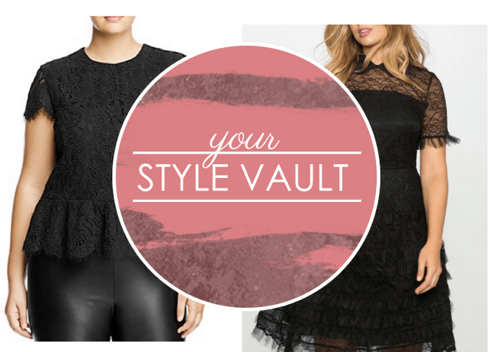 {October Modern Trends} Plus Size Lace Trends