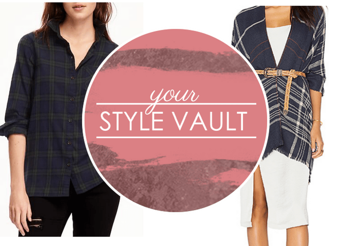 {October Modern Classics} Plaid Fashion For Your Fall Wardrobe