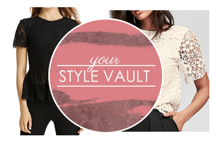 {October Modern Trends} New Ways To Wear Lace