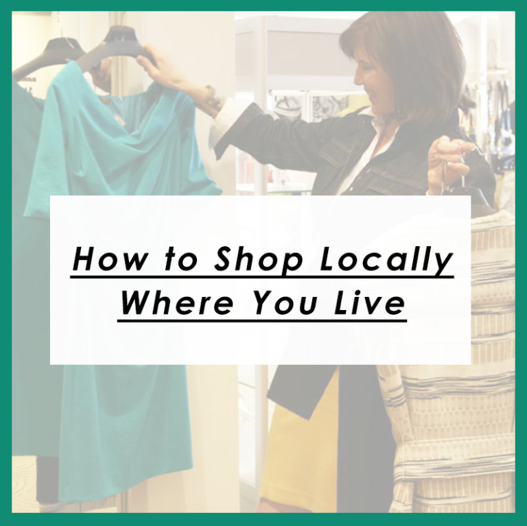 How to Shop Locally Where You Live
