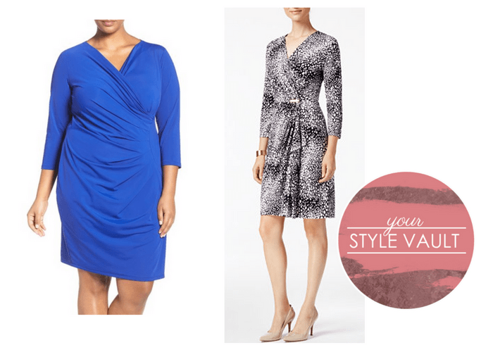 {November Finding Your Fit} Wrap Dresses