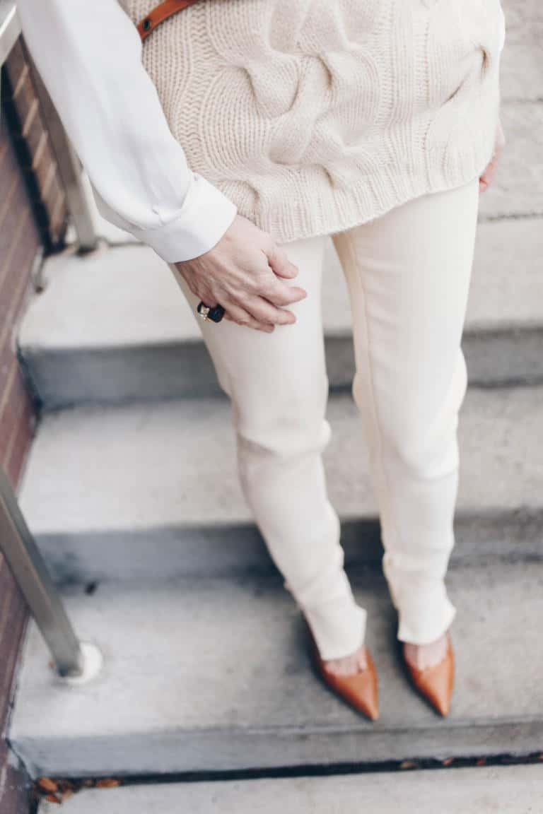 The Rule of Thumb For Wearing Winter White & Looking Chic