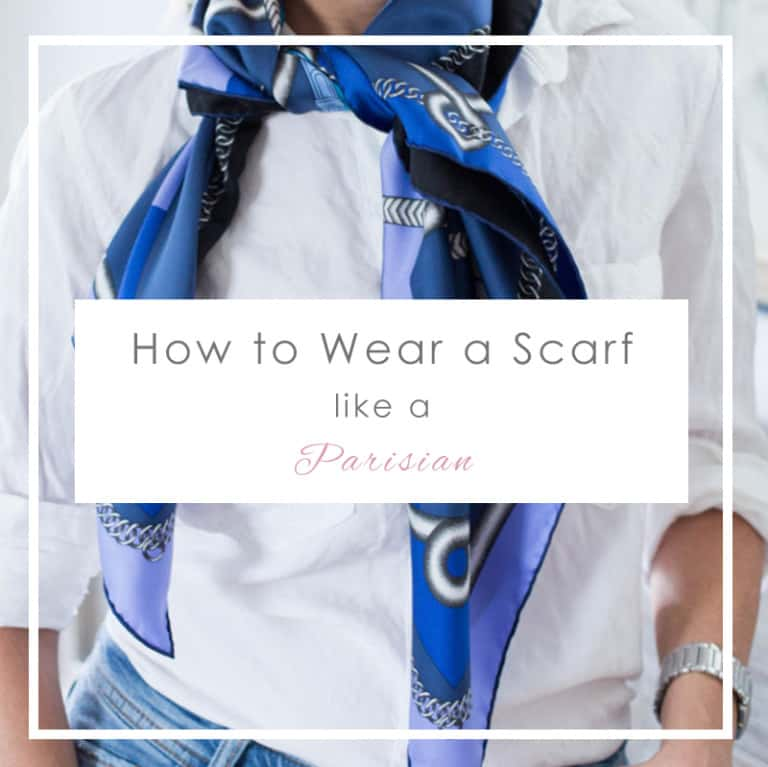 How To Wear a Scarf Like a Parisian (Guide)