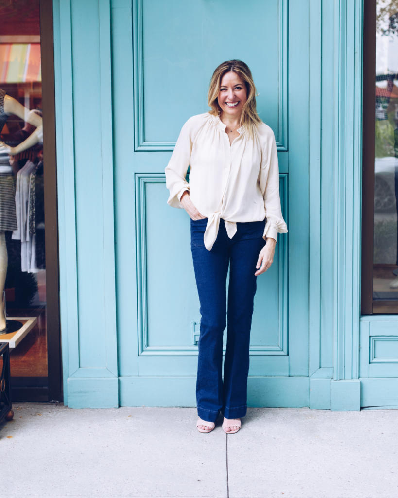 b13bebbf18 How To Wear Flare Jeans - YourStyleVault.com