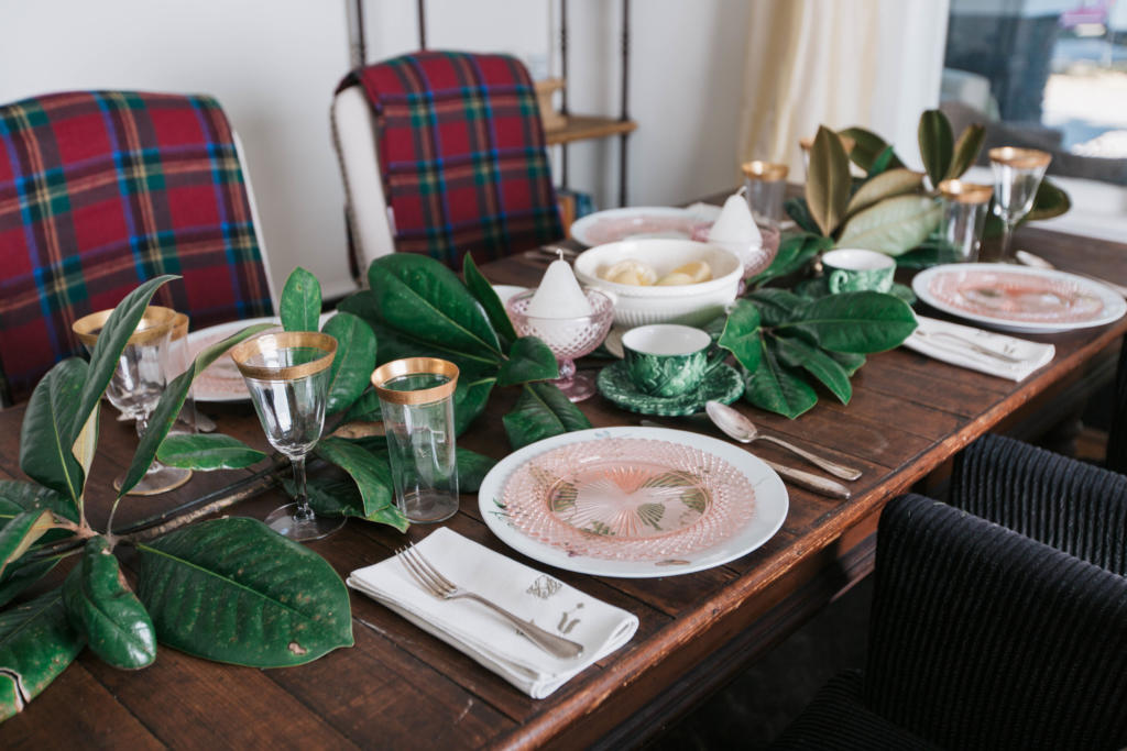 A december full of delights dressing your holiday table Christmas table dressing