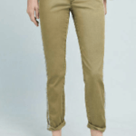 Anthropologie Striped Chino Trousers
