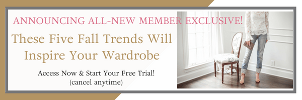 New Guide! These Five Fall Trends Will Inspire Your Wardrobe