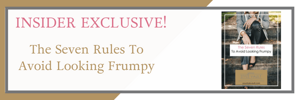[Insider Exclusive] New Release: The Seven Rules To Avoid Looking Frumpy