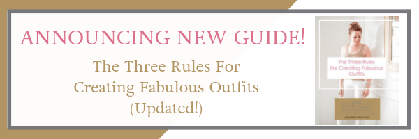 [Insider Exclusive] New Release: The 3 Rules For Creating Fabulous Outfits (updated!)
