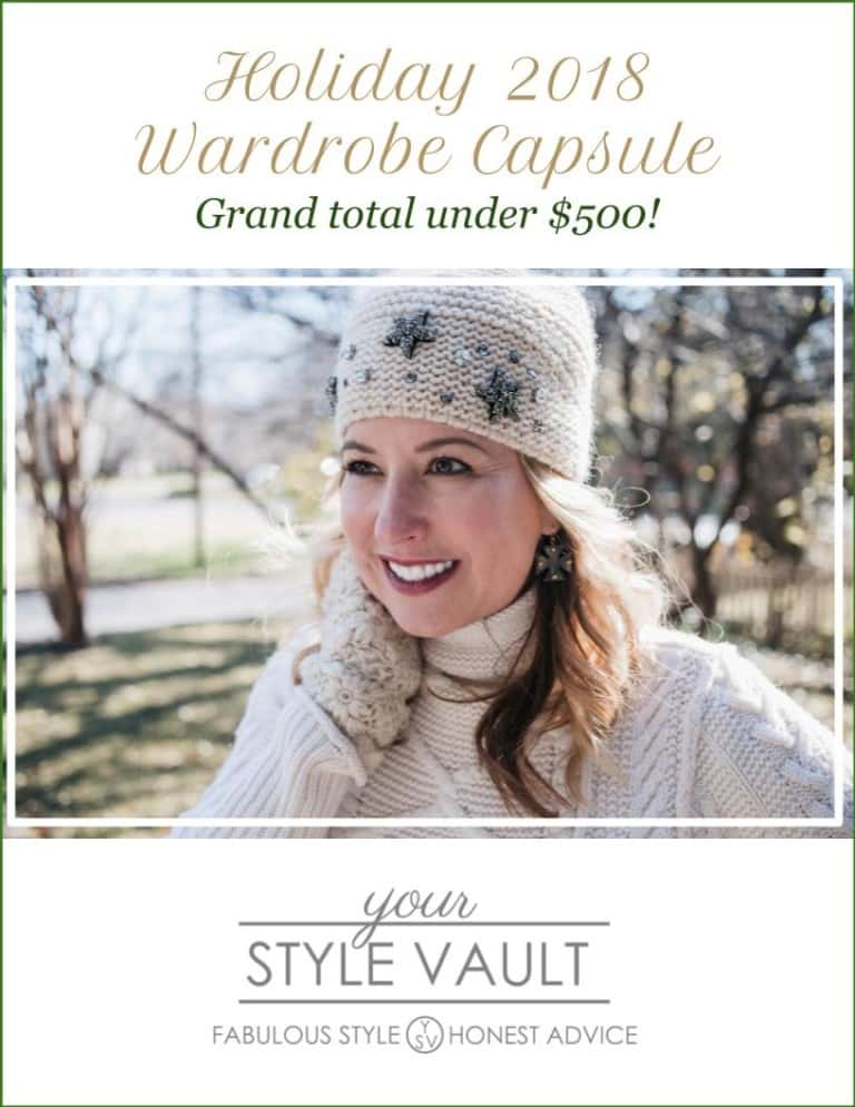 [Insider Exclusive] Holiday 2018 Wardrobe Capsule (That Will Take You Into Spring!)