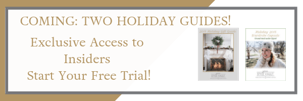 Announcing! What You've Been Waiting For...Holiday Guides Are Coming!