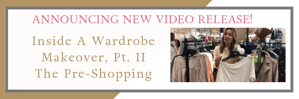 Announcing New Video Release! Follow Me On A Shopping Trip As Part of a Real-Life Wardrobe Makeover