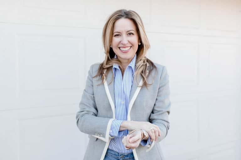 The Chicest Outfit You Can Wear: Jeans And A Blazer