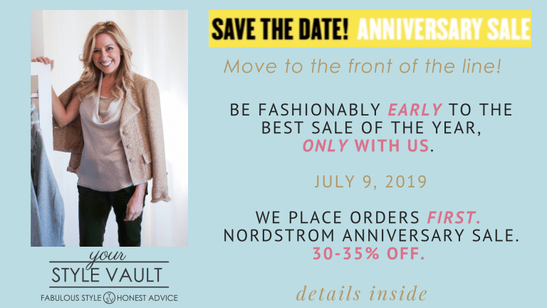 It's Time! Be First In Line With Us @ the Nordstrom Anniversary Sale