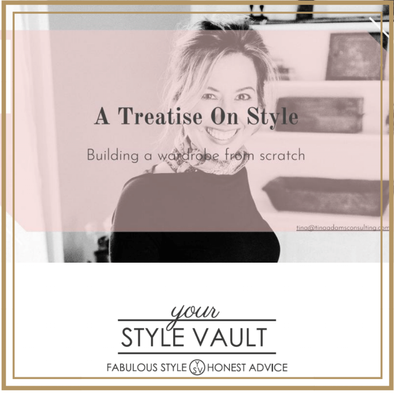 [Insider Exclusive] All New Guide! A Treatise On Style: Building A Wardrobe From Scratch