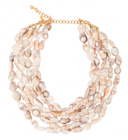 Kenneth Jay Lane Freshwater Pearl Multi-Strand Necklace