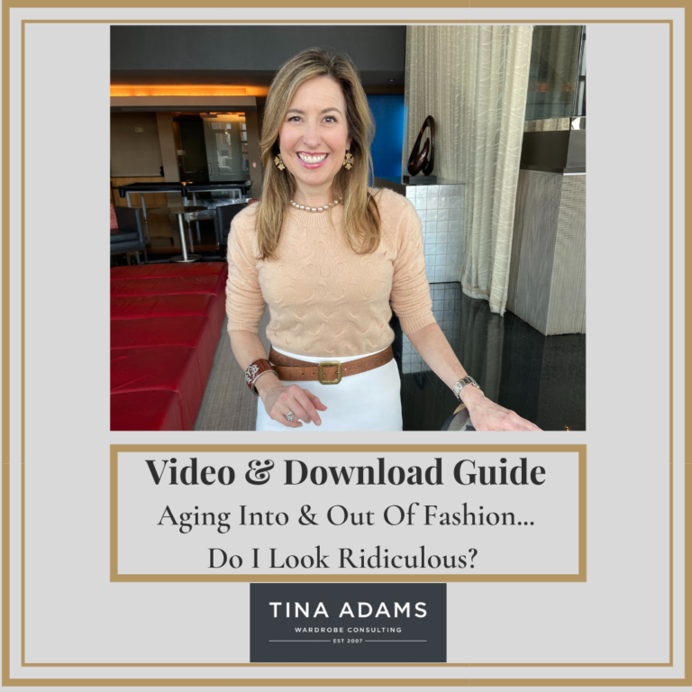 [Video + Download] Aging Into & Out Of Fashion: Does This Make Me Look Ridiculous?