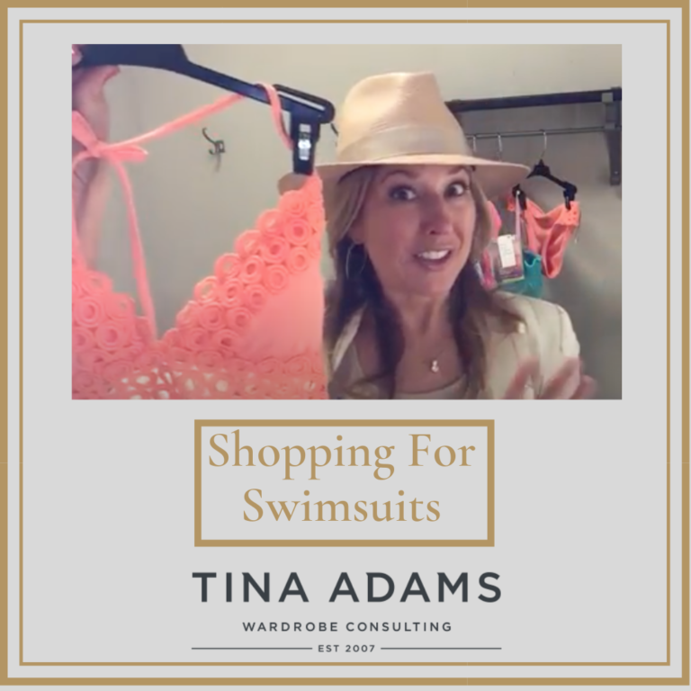 [Video] Shopping With Tina For Summer Swimsuits