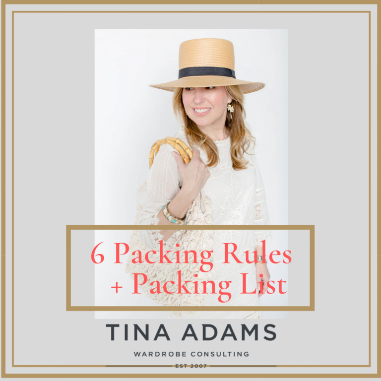 Six Packing Rules + Packing List For Summer Vacation