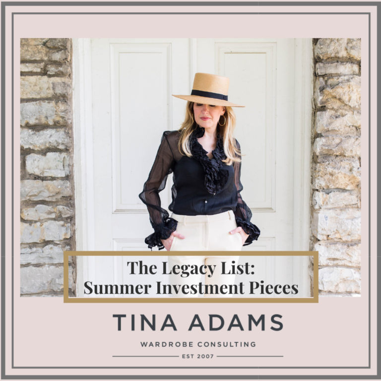 The Legacy List: Summer Investment Pieces